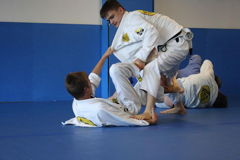 gracie Jiu-Jitsu rolling