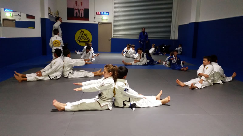 gracie castle hill kids classes
