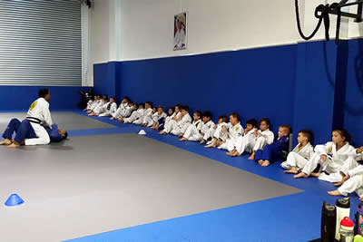 gracie castle hill kids Jiu-Jitsu classes