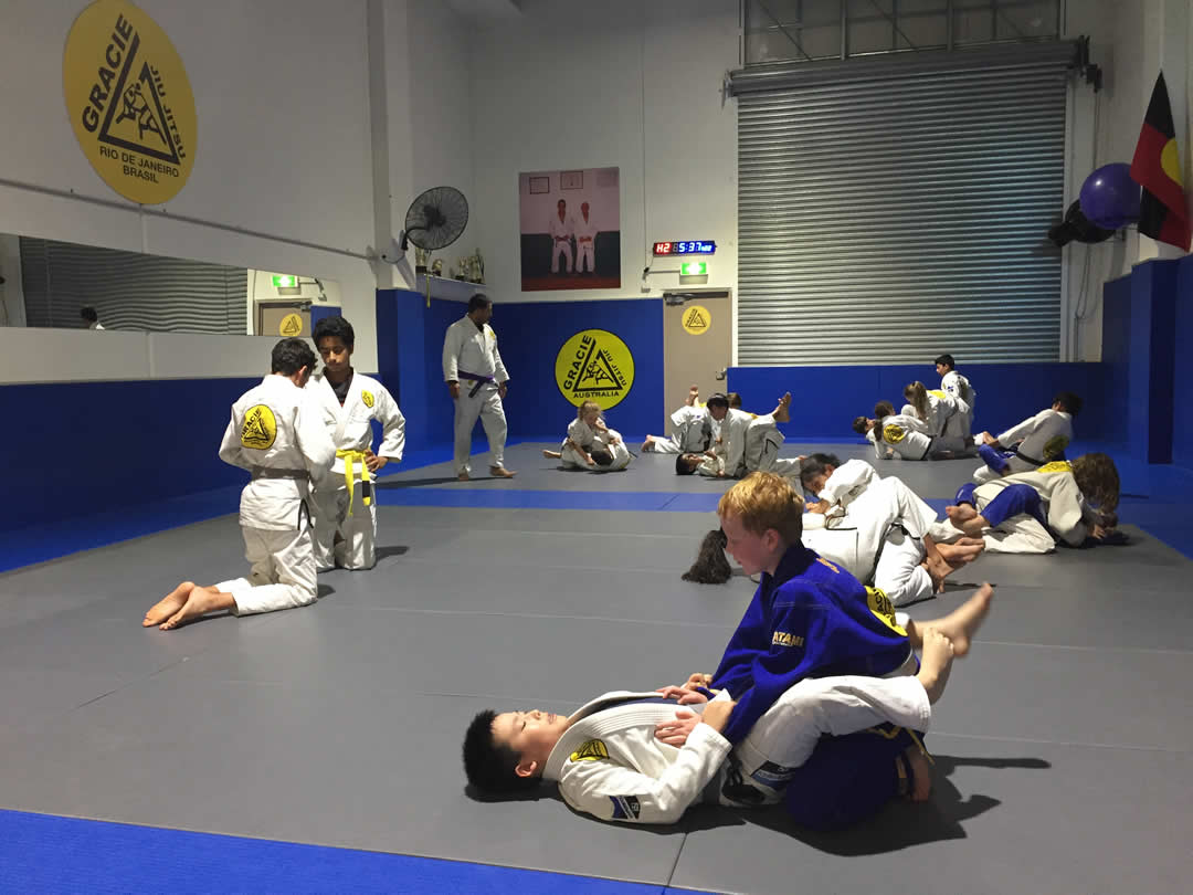gracie castle hill brazilian Jiu-Jitsu kids