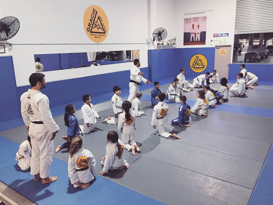 gracie castle hill kids class bjj